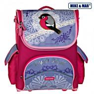 Школьный рюкзак раскладной Mike&Mar Майк Мар Снегирь арт. 1440-ММ-06 + пенал