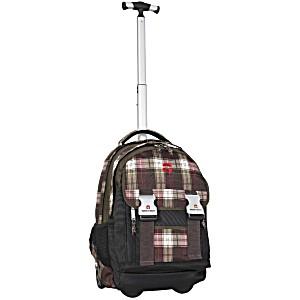 Школьный рюкзак на колесах Take It Easy Madrid Шотландка