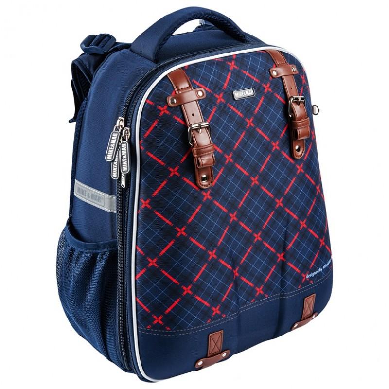 81f5bb8ab451 Купить Школьный рюкзак OXFORD MIKE MAR 1008-161 синий + мешок ...